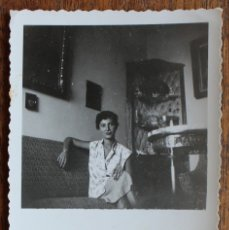 Fotografía antigua: ANTIGUA FOTO - 1952- 9 CM X 6 CM.. Lote 177392560