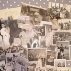 Fotografía antigua: ALICANTE LOTE FOTOS DE FAMILIA VARIAS ÉPOCAS LOTE N*2. Lote 177417729
