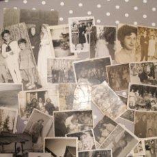 Fotografía antigua: ALICANTE LOTE FOTOS FAMILIARES VARIAS ÉPOCAS LOTE N*3. Lote 177418285