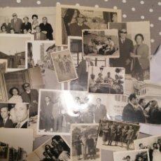 Fotografía antigua: ALICANTE LOTE FOTOS FAMILIARES ONCE TRABAJADORES LOTE N*4. Lote 177419188