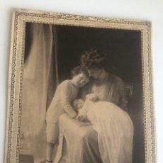 Fotografía antigua: FOTOGRAFÍA FAMILIA INGLESA DE WESTON & SON. Lote 177582709
