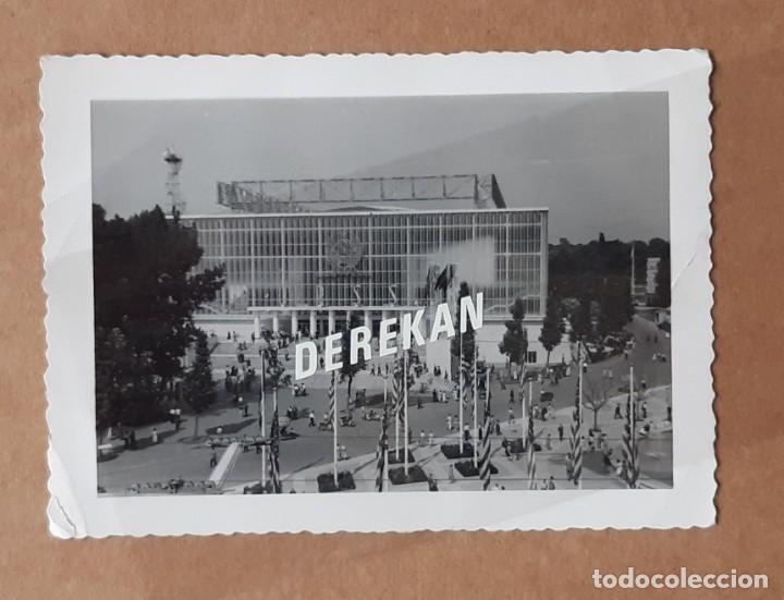 ANTIGUA FOTOGRAFÍA PABELLÓN DE LA URSS. EXPOSICIÓN UNIVERSAL BRUSELAS. BÉLGICA. 1958. (Fotografía - Artística)