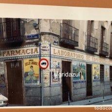 Fotografía antigua: FOTO JOSE DOMINGUEZ GARCIA LABORATORIO FARMACIA JUANSE MALASAÑA MADRID AG-0016. Lote 177604268