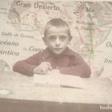Fotografía antigua: FOTOGRAFÍA DE ESCOLAR ESCUELA CATÓLICA DE JÁTIVA (VALENCIA) - CURSO 1942-43 - FOTO-REPORTAJE DAMIÁN. Lote 177674257