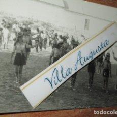 Fotografía antigua: INAUGURACION HERCULES DE ALICANTE FUTBOL FEMENINO CAMPEONAS. Lote 177719752