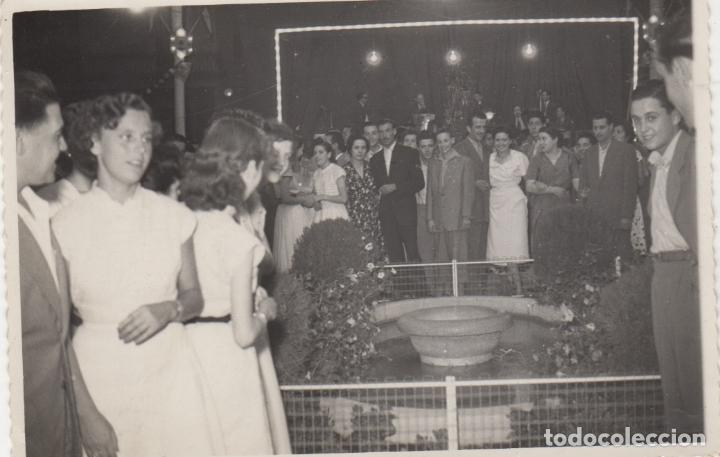 FOTOGRAFIA - FOTO ARTISTICA FIESTA MAYOR DEL VENDRELL AÑO 1952 FOTOGRAFIA DEDICADA (Fotografía - Artística)
