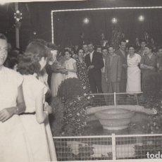 Fotografía antigua: FOTOGRAFIA - FOTO ARTISTICA FIESTA MAYOR DEL VENDRELL AÑO 1952 FOTOGRAFIA DEDICADA. Lote 177781713