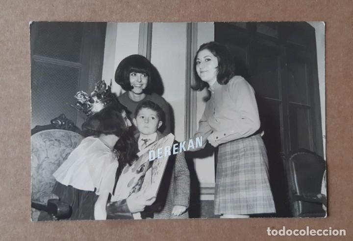 ANTIGUA FOTOGRAFÍA REYES MAGOS. FOTÓGRAFO F. PEREZ APARISI. AÑOS 60. VALENCIA. (Fotografía - Artística)
