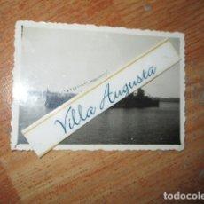 Fotografía antigua: ALMIRANTE CERVERA ACORAZADO CIRCA 1939 1941 FINAL GUERRA CIVIL TRIPULACION DEL FERROL. Lote 177944293