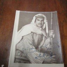 Fotografía antigua: IMPRESIONANTE FOTO INEDITA SOLDADO CEUTA 1943 DATOS MANUSCRITOS. Lote 177968708