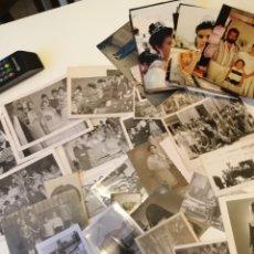 Fotografía antigua: AGOST ALICANTE LOTE FAMILIAR FIESTAS 50 FOTOS EPOCA. Lote 178138339