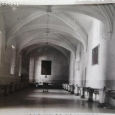 Fotografia antica: FOTOGRAFÍA ANTIGUA - VALENCIA, REFECTORIO DEL CONVENTO DE LA TRINIDAD - 11,5 X 8,5 CM. Lote 178234077