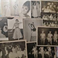 Fotografía antigua: ARTISTA SEÑORITA AÑOS 60-70 LOTE ESCENAS PASAJES DE SU VIDA. Lote 178263573