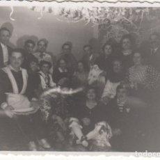 Fotografía antigua: FOTOGRAFIA - FOTO ARTISTICA CARNAVAL AMIGOS FIESTA AÑOS 50. Lote 178614973