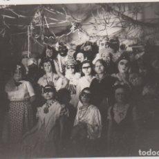 Fotografía antigua: FOTOGRAFIA - FOTO ARTISTICA CARNAVAL AMIGOS FIESTA AÑOS 50. Lote 178615016