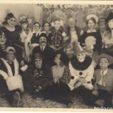 Fotografía antigua: FOTOGRAFIA - FOTO ARTISTICA CARNAVAL AMIGOS FIESTA AÑOS 50. Lote 178615175