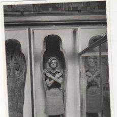 Fotografía antigua: FOTOGRAFIA - FOTO ARTISTICA MUESO EJIPCIO DE LONDRES1968. Lote 178616718