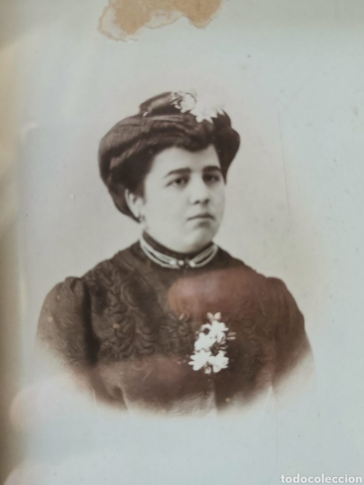 Fotografía antigua: Preciosa foto enmarcada. Señora Granada. Principios siglo XX - Foto 2 - 178645880
