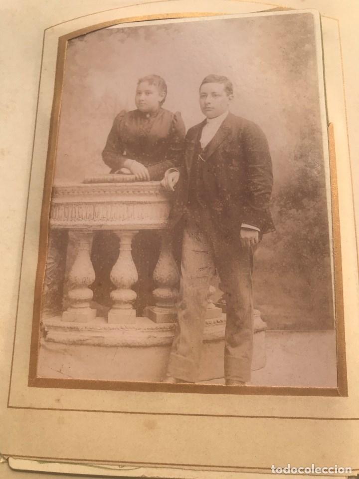 Fotografía antigua: PRECIOSO ALBUM ANTIGUO CON 56 FOTOGRAFIAS DE FINALES DEL XIX Y PRINCIPIO DEL XX - Foto 16 - 178714597