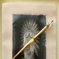 Fotografía antigua: FOTOGRAFIA- MURCIA- VIRGEN A IDENTIFICAR- 33 X 25 PASCUAL NICOLAS 1.919. Lote 178780146