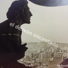 Fotografía antigua: ANTIGUA FOTOGRAFÍA ARTÍSTICA. SAGRADA FAMILIA. GAUDÍ. BARCELONA. AÑOS 1960S. 30 X 24 CTMS. Lote 178954340