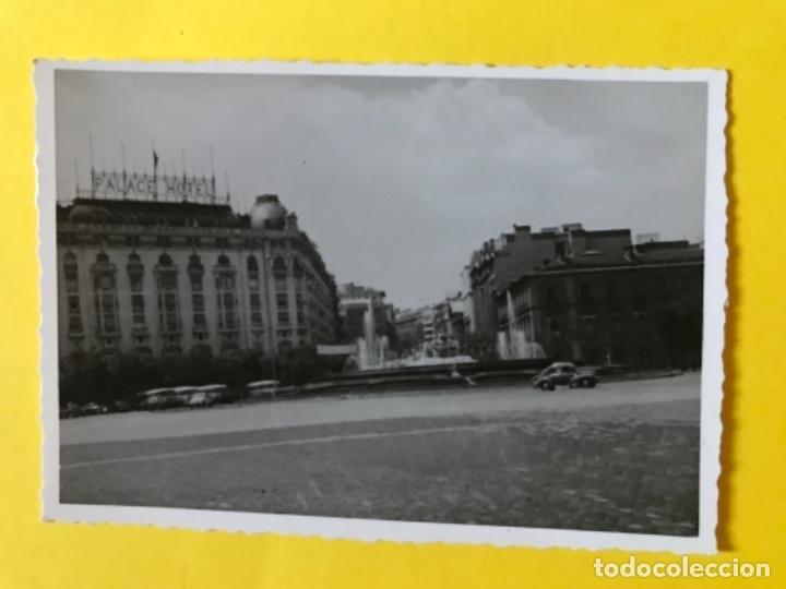 HOTEL PALACE HOTEL PLAZA DE NEPTUNO ANTIGUA FOTO COCHE DE EPOCA MADRID FOTOGRAFIA NEPTUNO (Fotografía - Artística)