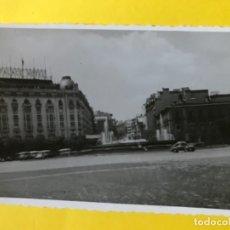 Fotografía antigua: HOTEL PALACE HOTEL PLAZA DE NEPTUNO ANTIGUA FOTO COCHE DE EPOCA MADRID FOTOGRAFIA NEPTUNO. Lote 179003443