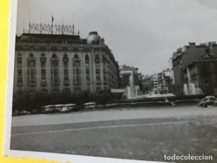 Fotografía antigua: hotel palace hotel plaza de neptuno antigua foto coche de epoca madrid fotografia neptuno - Foto 2 - 179003443