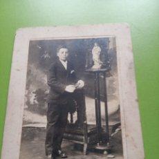 Fotografía antigua: POSTAL ANTIGUA. Lote 179017615
