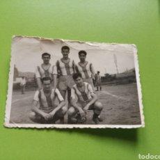 Fotografía antigua: FOTOGRAFÍA FÚTBOL. Lote 179019905