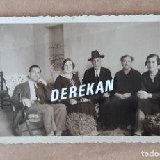 Fotografía antigua: ANTIGUA FOTOGRAFÍA GRUPO FAMILIA. 1932. TROQUELADA. MURCIA?. Lote 179041511