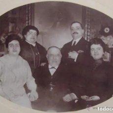 Fotografía antigua: ANTIGUA Y PRECIOSA FOTO FOTOGRAFIA DE UNA FAMILIA. FINALES SIGLO XIX PRINCIPIOS SIGLO XX. Lote 179106503