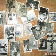 Fotografía antigua: LOTE FOTOS POSTAL ELCHE Y ALICANTE ATRACCION FERIA. Lote 179121825