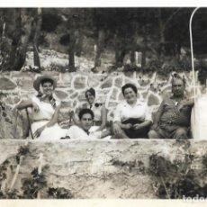 Fotografía antigua: == DD173 - FOTOGRAFIA - GRUPO DE AMIGOS. Lote 179315340