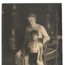 Fotografía antigua: R56- EXTRAORDINARIA FOTOGRAFIA ANTIGUA - ABUELA Y NIETO - FOTO - - - - - . Lote 179315537