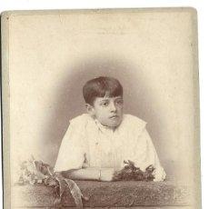 Fotografía antigua: R56- EXTRAORDINARIA FOTOGRAFIA ANTIGUA - UNA JOVEN- FOTO - A. S. WITCOMB - BUENOS AIRES. Lote 179315887