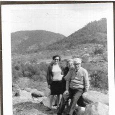Fotografía antigua: == DD192 - FOTOGRAFIA - TRES AMIGOS EN EL CAMPO. Lote 179330235
