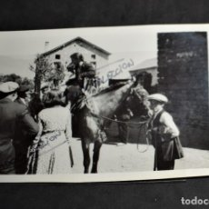 Fotografía antigua: FOTOGRAFIA POBLE DE ALP. Lote 179332896