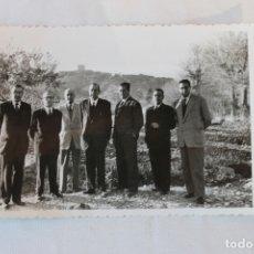 Fotografía antigua: FOTOGRAFIA TROQUELADA, PERSONAJES ILUSTRES, LORCA, . Lote 179533663