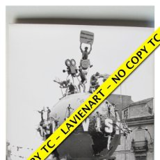 Fotografía antigua: FOTOGRAFÍA VALENCIA - FALLA CONVENTO JERUSALEN - SEGUNDO PREMIO - 1965 . Lote 179556916