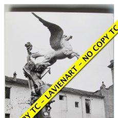 Fotografía antigua: FOTOGRAFÍA VALENCIA - FALLA PLAZA DEL PILAR - TERCER PREMIO - 1965 . Lote 179556950