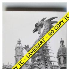 Fotografía antigua: FOTOGRAFÍA VALENCIA - FALLA PLAZA DEL CAUDILLO - FUERA CONCURSO - 1965 . Lote 179557000