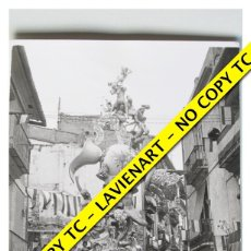 Fotografía antigua: FOTOGRAFÍA VALENCIA - FALLA PLAZA NA JORDANA - PRIMER PREMIO - 1965 . Lote 179557033