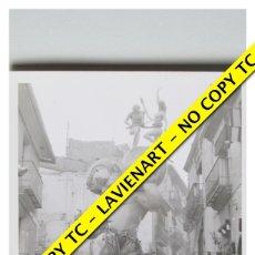 Fotografía antigua: FOTOGRAFÍA VALENCIA - FALLA NA JORDANA - SEGUNDOPREMIO - 1964. Lote 179557155