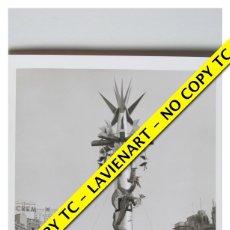 Fotografía antigua: FOTOGRAFÍA VALENCIA FALLA - PLAZA CAUDILLO - FUERA CONCURSO - 1964. Lote 179557250