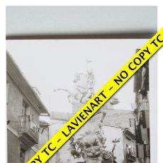 Fotografía antigua: FOTOGRAFÍA VALENCIA FALLA - PLAZA NA JORDANA - CUARTO PREMIO - 1966. Lote 179557301