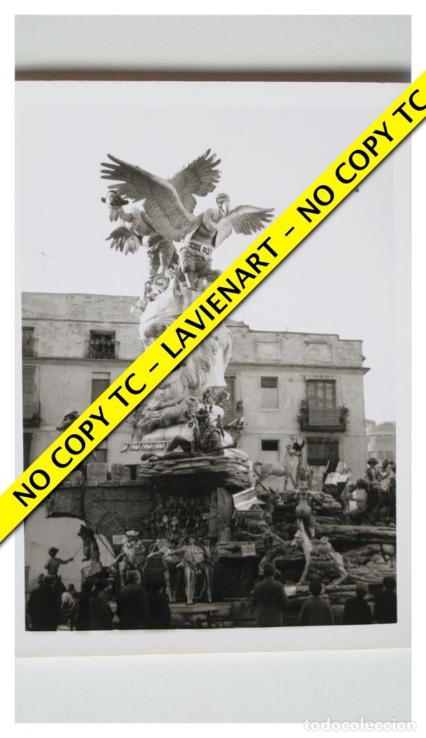 FOTOGRAFÍA VALENCIA FALLA - PLAZA DEL PILAR - PRIMER PREMIO - 1966 (Fotografía - Artística)