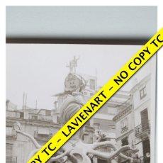 Fotografía antigua: FOTOGRAFÍA VALENCIA FALLA - PLAZA DE LA MERCÉ - 1968. Lote 179557416