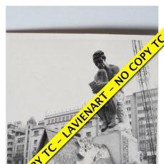 Fotografía antigua: FOTOGRAFÍA VALENCIA FALLA - PLAZA CAUDILLO - FUERA CONCURSO - 1972. Lote 179557565