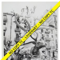 Fotografía antigua: FOTOGRAFÍA VALENCIA FALLA - EXPOSICIÓN - SEPTIMO PREMIO - 1972. Lote 179557613